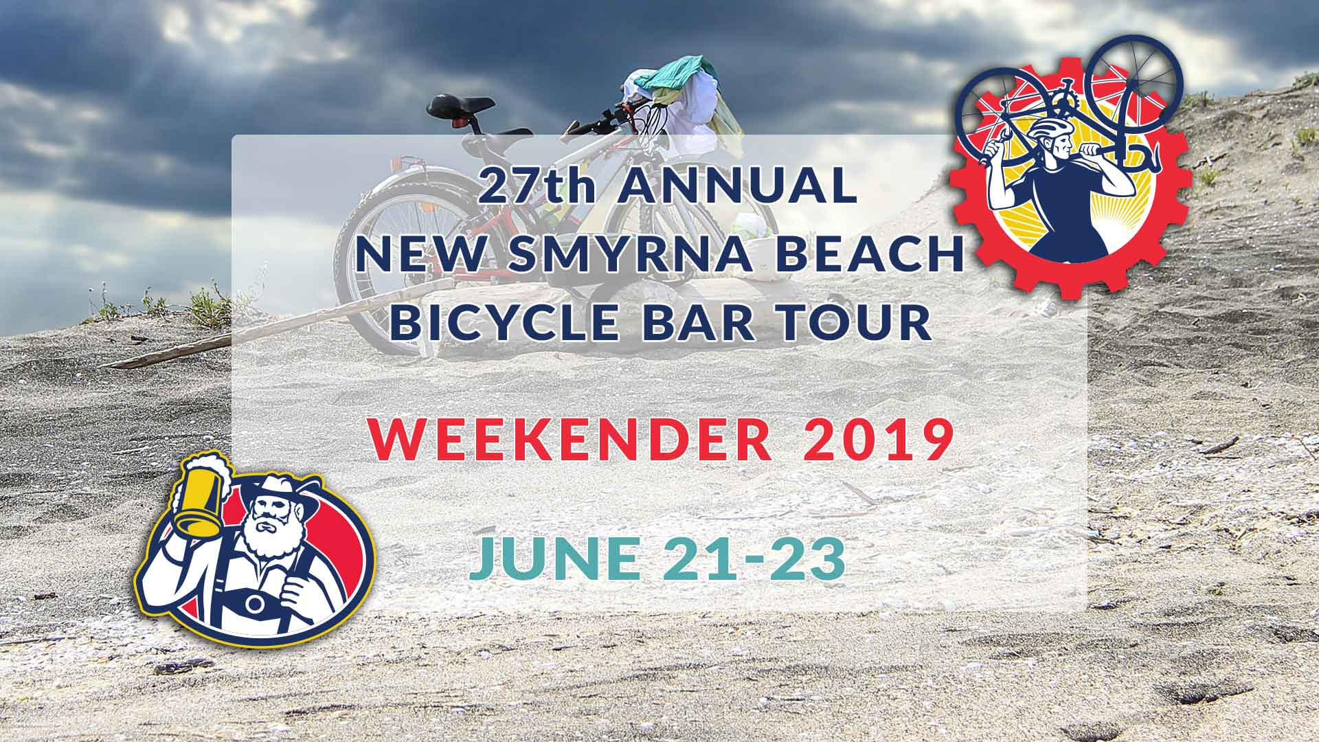 27th Annual Smyrna Beach Bicycle Bar Tour Weekender 2019